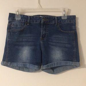 Ardene jean short (Cotton and spandex)
